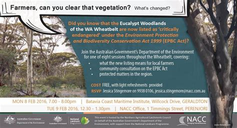 eucalypt woodlands workshop nacc northern agricultural catchments