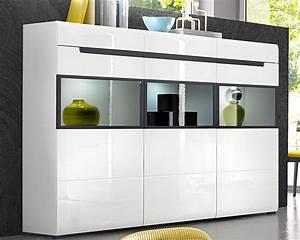 Highboard Weiß Hochglanz : highboard breite 180 cm online kaufen otto ~ Markanthonyermac.com Haus und Dekorationen