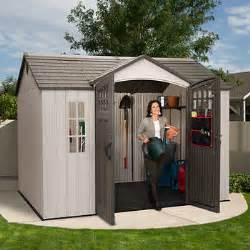 lifetime 174 10 ft x 8 ft outdoor storage shed
