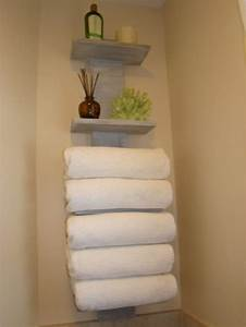 useful bathroom towel storage ideas that you will love With storing towels in the bathroom