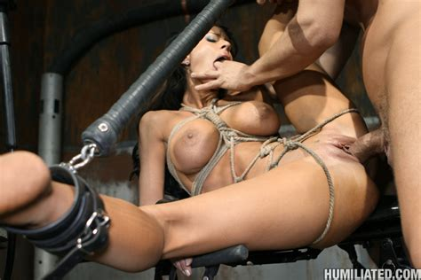 Gushing Bondage Whore Fucked To Wet Gushing Xxx Dessert