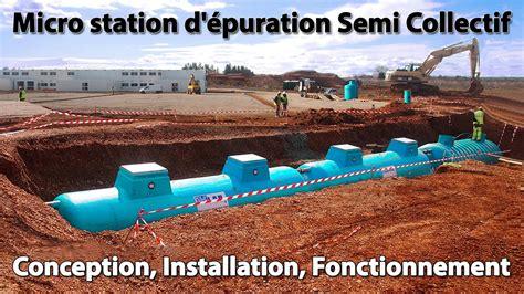 micro station d 233 puration ultra fonctionnement pr 233 sentation conception installation semi