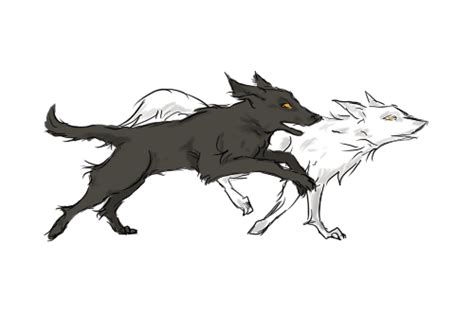running wolf animation tumblr