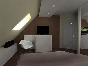 Meuble Tv Pour Chambre : meuble tv chambre eschau adi home ~ Teatrodelosmanantiales.com Idées de Décoration