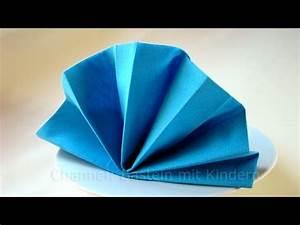 Serviettenfalttechniken Mit Papierservietten : servietten falten f cher einfache tischdeko falten ~ Watch28wear.com Haus und Dekorationen