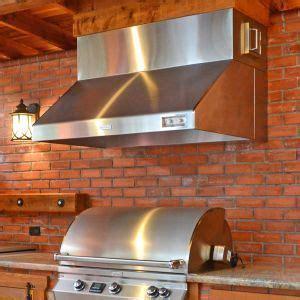 vent hoods improved outdoor kitchen air flow kitchen