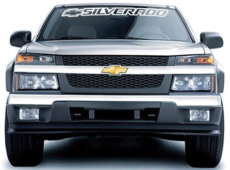 Silverado Windshield Decal Ebay
