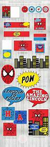 Spiderman Birthday Party Party printables, Birthdays and