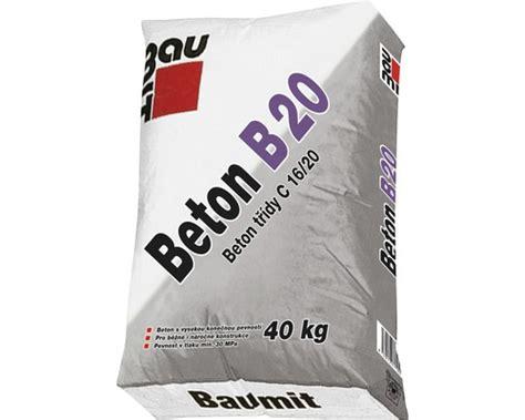 beton 40 kg beton baumit b 20 balen 237 40 kg v eshopu hornbach cz
