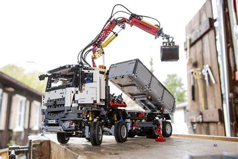 lego technic mercedes neuer truck lego technic der mercedes arocs 3245
