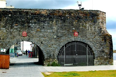 galway medieval wall spanish arch  joseph