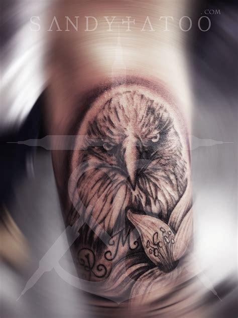 Tatouage Aigle Royal Sandytatoo