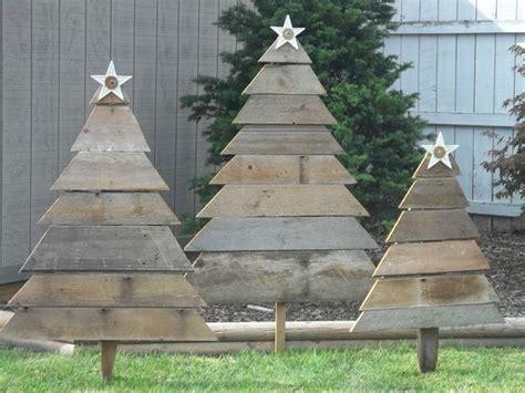 top modern wooden christmas trees  backyard