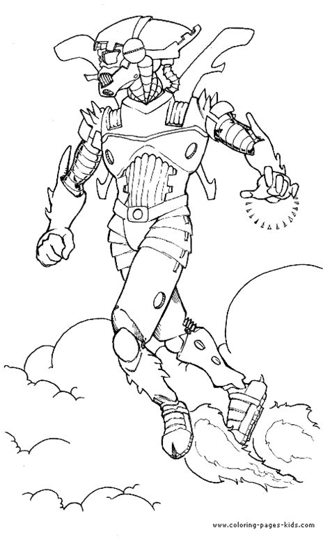 Space Aliens color page, fantasy medieval coloring pages