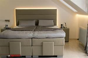 Indirekte Beleuchtung Schlafzimmer : indirekte beleuchtung hinter dem bett schlafzimmer pinterest ~ Yasmunasinghe.com Haus und Dekorationen