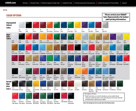 armour color codes football helmet shell color questions and answers sports