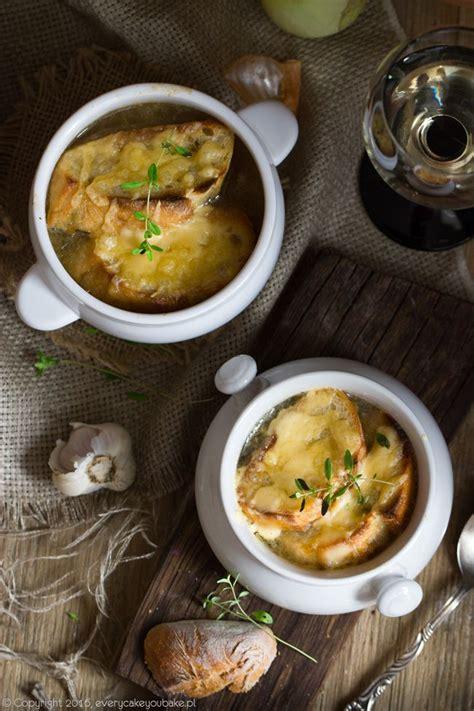 Zupa cebulowa | French onion soup, Soup, French onion