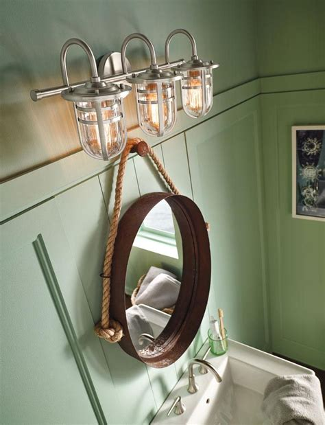 Nautical Bathroom Lighting Fixtures by Nautical Bathroom Light Fixtures Pinteres
