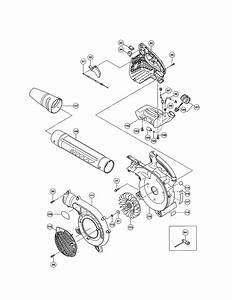 Hitachi Model Rb24eap Blower  Gas Genuine Parts