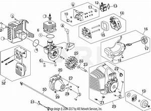 Mtd Bl160 41ad170g965 Parts Diagram For Engine Assembly