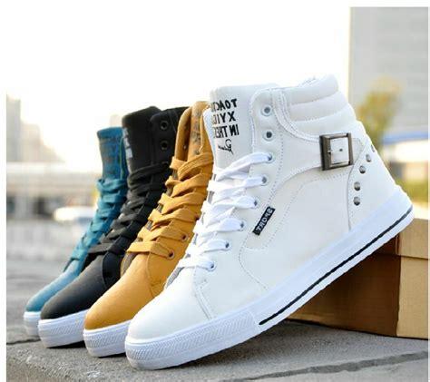 Korean Men Rivet Spikes Shoes Fashion Willow