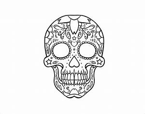 images of simple skull template golfclub
