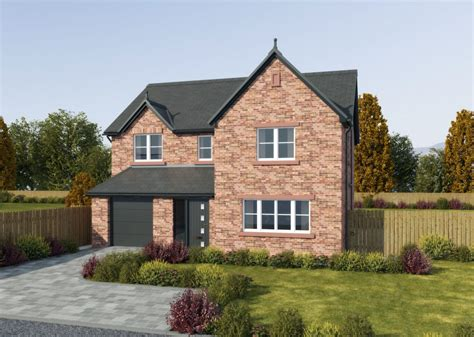Houses With Garages by 5 Bedroom Detached House With Integral Garage And