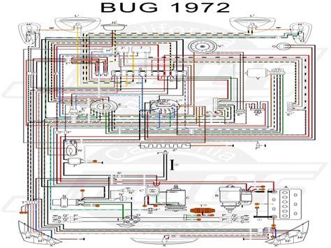1972 vw bug wiring diagram lighting wiring forums
