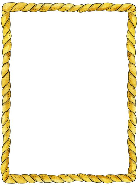 Rope Border Clipart Rope Frame Border And Corner Designs Frame Frame