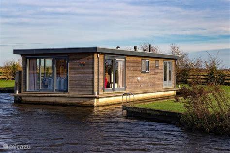 rent sweltsje luxury houseboat  eernewoude friesland