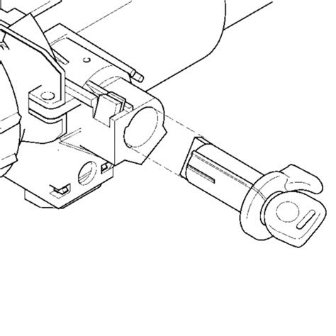 Ignition Switch Replacement Column Interior