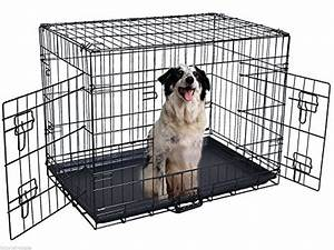 483939 2 doors wire folding pet crate dog cat cage suitcase With where can i buy a dog cage