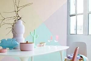 Farben Für Schlafzimmer Wände : kreative wandgestaltung mit farben unsere wohnideen mit mehrfarbigen w nde living at home ~ Eleganceandgraceweddings.com Haus und Dekorationen