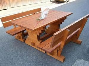 Gartentisch Holz Massiv : gartentisch holz massiv selber bauen inneneinrichtung und m bel ~ Indierocktalk.com Haus und Dekorationen