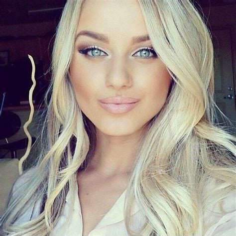 Pretty Girl Blonde Hair Blue Eyes Bing Images Hair