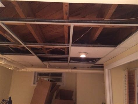 Suspended Ceiling Height by Drop Ceiling Vs Bare Ceiling