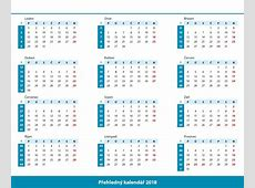 Kalendář 2018 Printable 2018 calendar Free Download USA India Spain
