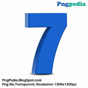 blue-3d-numbers-set 1300 x 1300 free download | Png ...