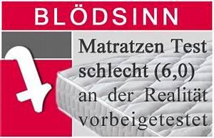 Matratzen Stiftung Warentest Testsieger : stiftung warentest matratzen test ist bl dsinn ~ Bigdaddyawards.com Haus und Dekorationen