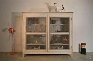 Grillage Garde Manger : grand garde manger en bois peint artisans du patrimoine ~ Teatrodelosmanantiales.com Idées de Décoration