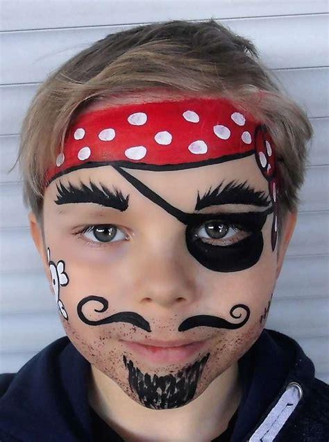 schminken clown vorlage pirat schminkvorlage f 252 r fasching oder kindergeburtstag
