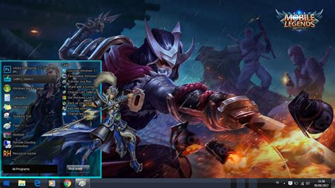 Shatter your opponents with the touch of your finger and claim the crown of 5. CUSTOM THEME MOBILE LEGEND UNTUK WINDOWS 7