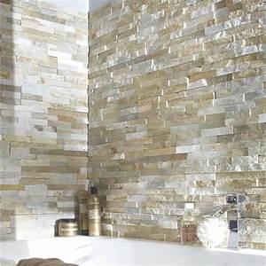 plaquette de parement petra en pierre naturelle beige With promo fenetre leroy merlin