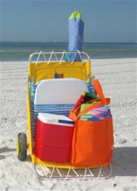 folding fabric beach cart perfect fishing cart