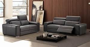 dodge relaxation electrique ou fixe en cuir epais 2mm With canapé relaxation electrique cuir