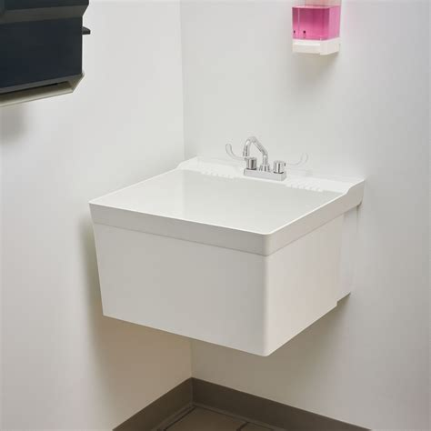 Fiat Laundry Tub by L1 Molded Laundry Tub With Hanger Laundry Sink