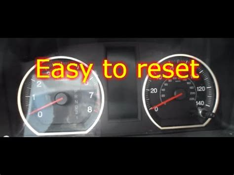 turn off airbag light how to reset or turn off honda crv srs airbag light
