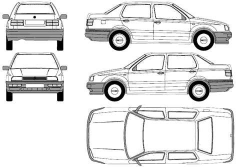 1993 Volkswagen Jetta Iii (1h) Sedan