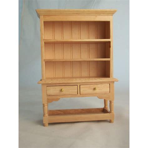 kitchen dollhouse furniture kitchen hutch oak finish t4360 miniature dollhouse furniture wood 1 12 scale