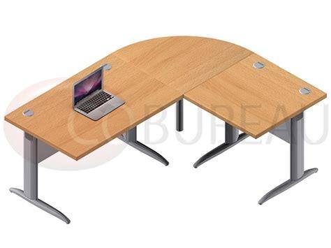 ensemble de bureau ensemble bureau cadre 120 cm pro métal avec angle de